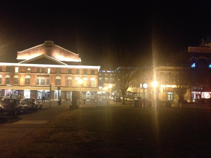 City Market - Downtown Roanoke at night