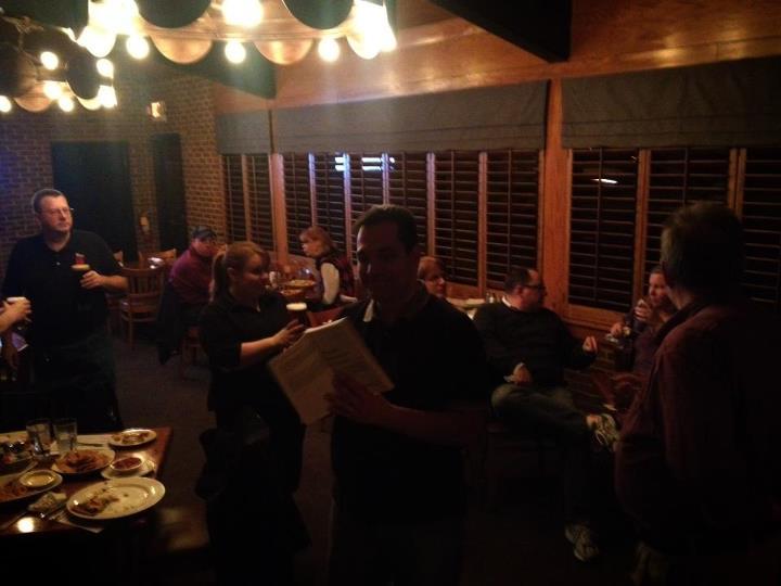 Roanoke Code Camp Speaker Dinner