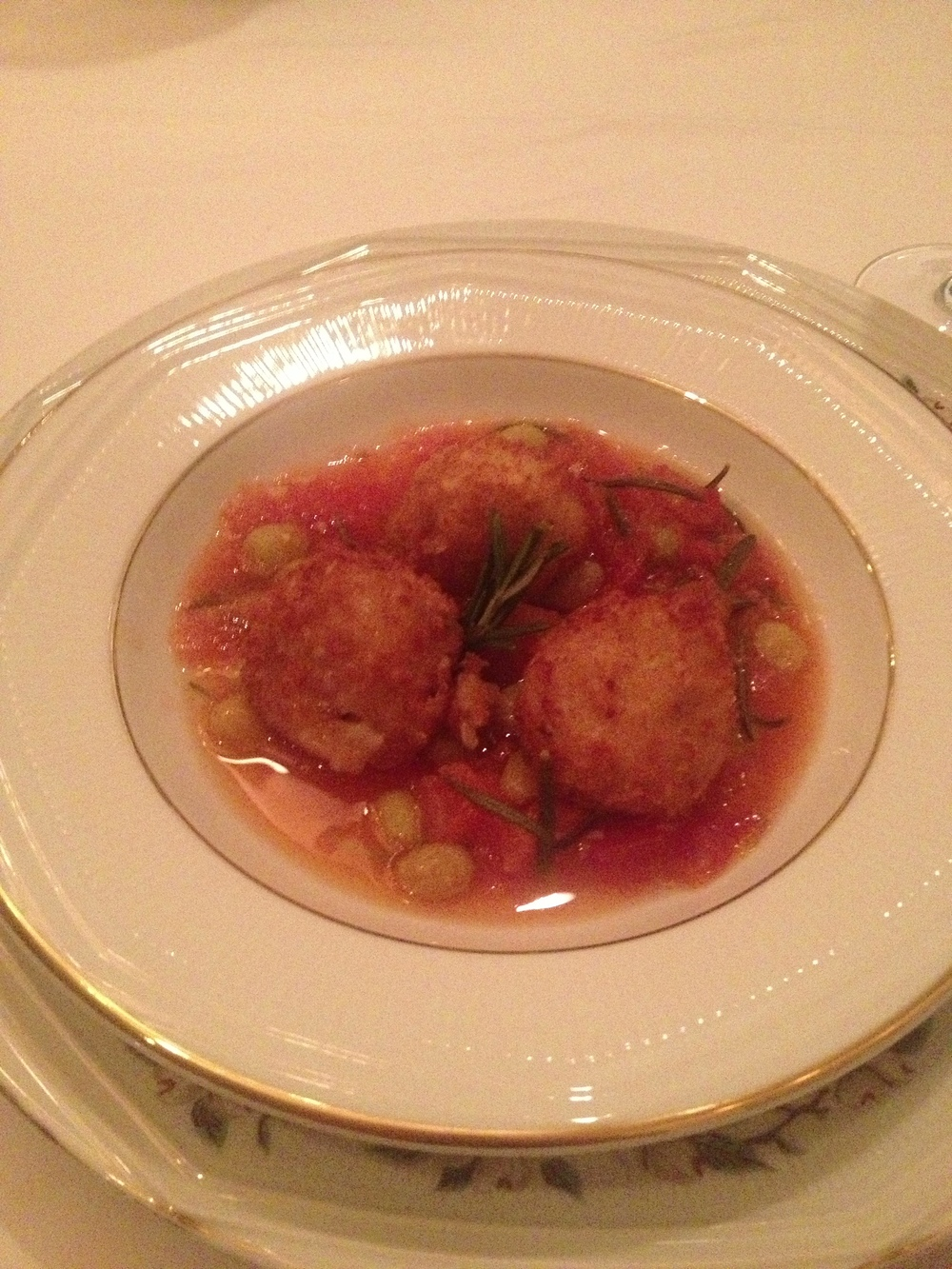 Truffle Risotto Fritters