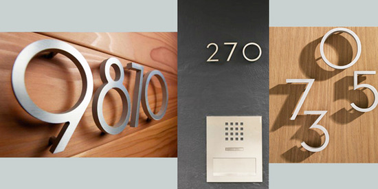 Architectural Numbers / MYD blog / Moss Yaw Design studio