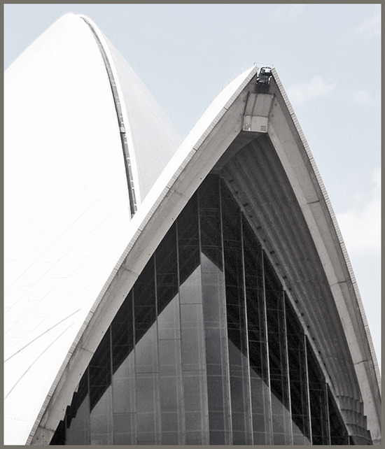 opera house / sail detail