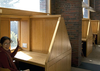 Study Carrels | Architecture Detail | Library Architecture ...