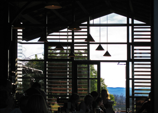 sonoma contemporary glass tasting room