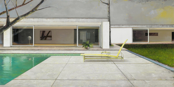 Painting Modernism architecture art MYD blog Moss Yaw