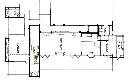 floor plan sketch of new construction