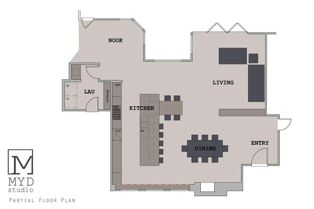 partial floor plan