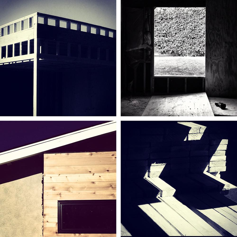 wood framing | construction: villa park