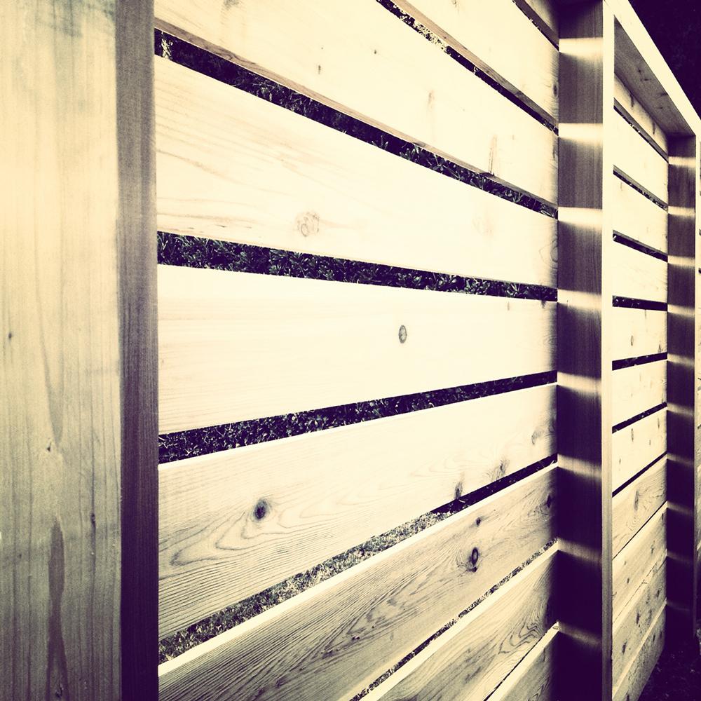 modern fence: instagram