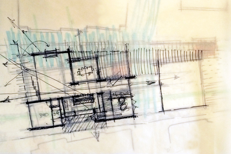 Building a Floor Plan: Sketching, Overlays + the Design Process ...