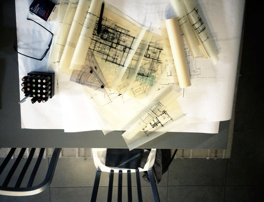 architectural process + sketching | MYD studio, orange county