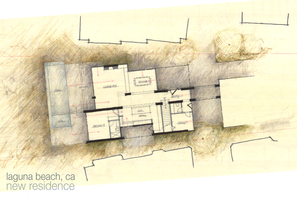 crescent bay contemporary floor plan design
