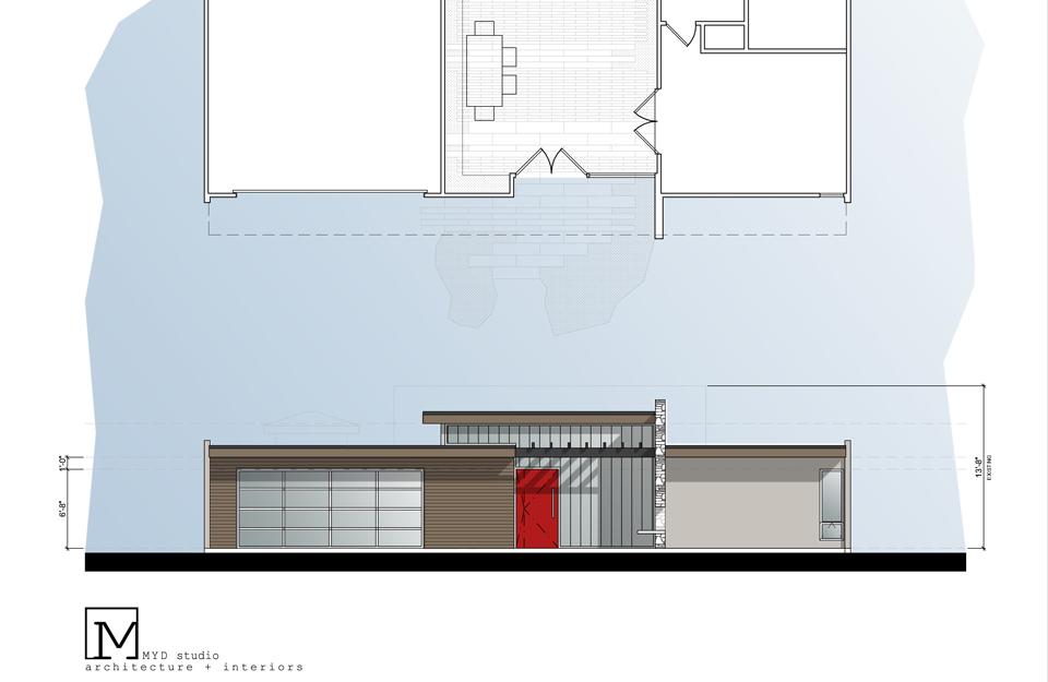 modern elevation // 02