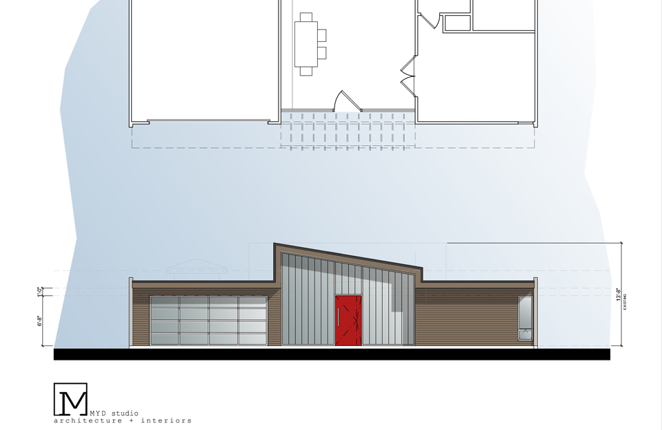 modern elevation // 04