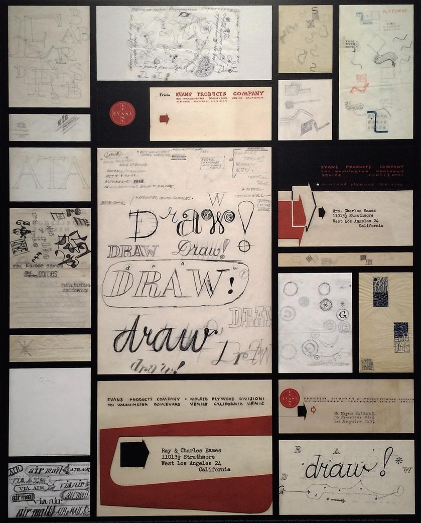 sketches + correspondence
