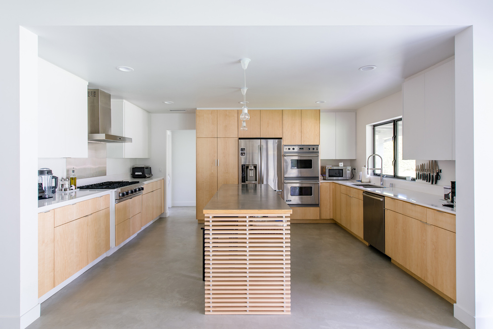 open kitchen / contemporary residential architecture