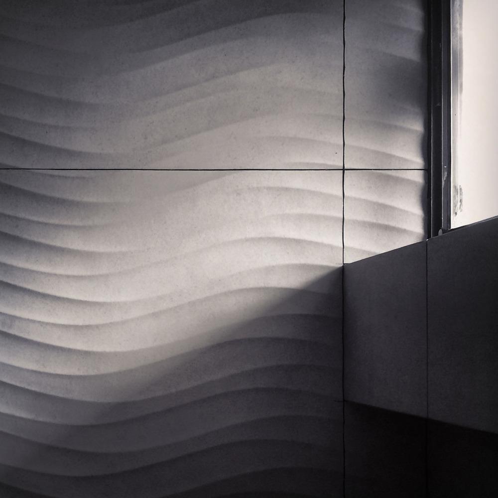 modern details/dimensional tile installation