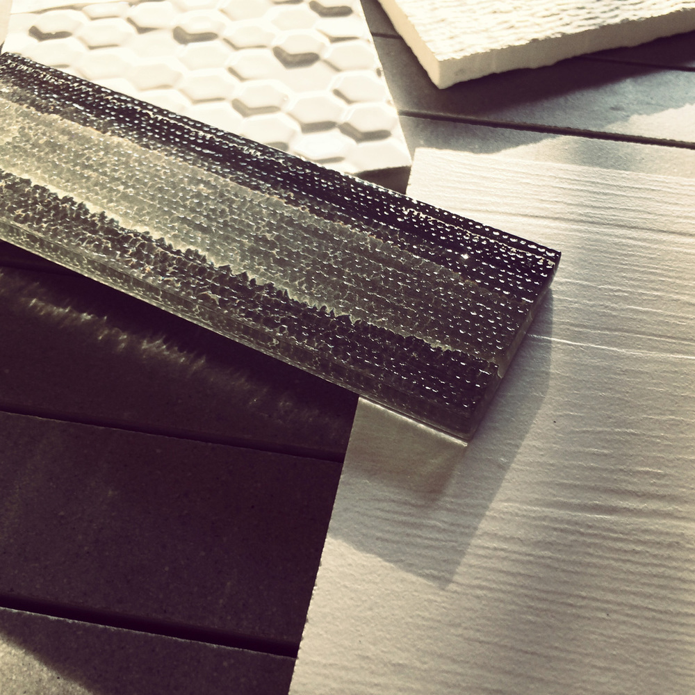 materials  / modern bath tile