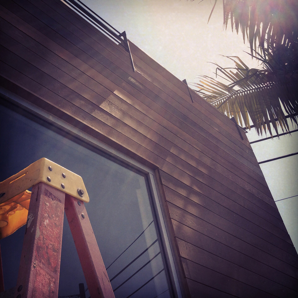cedar siding  / san clemente contemporary remodel