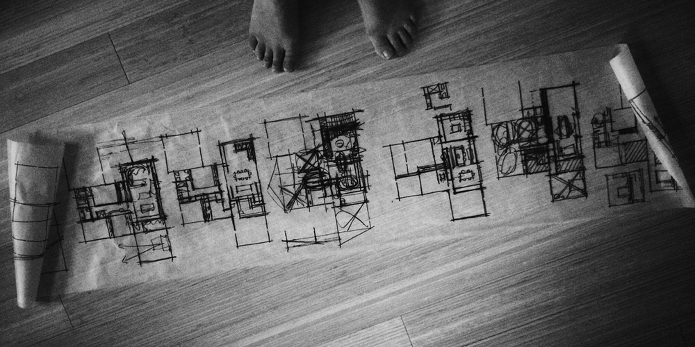 floor plan sketches / overview
