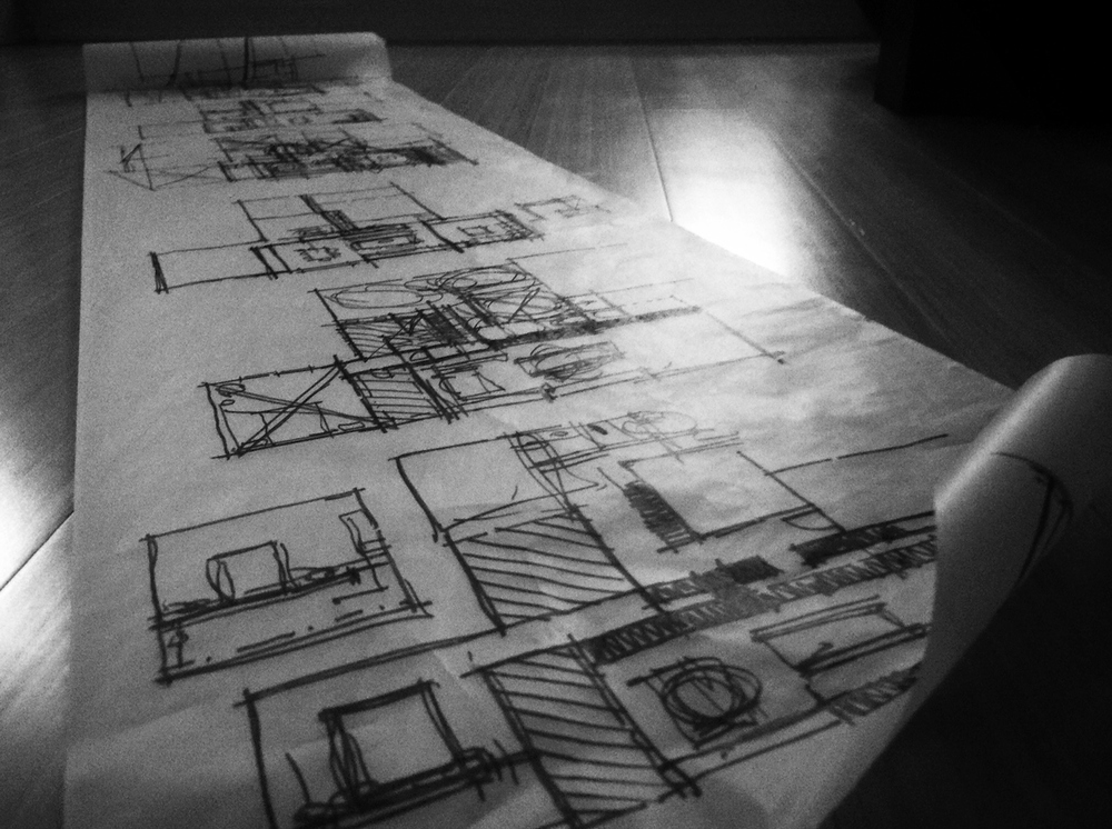 floor plan design / architectural sketches