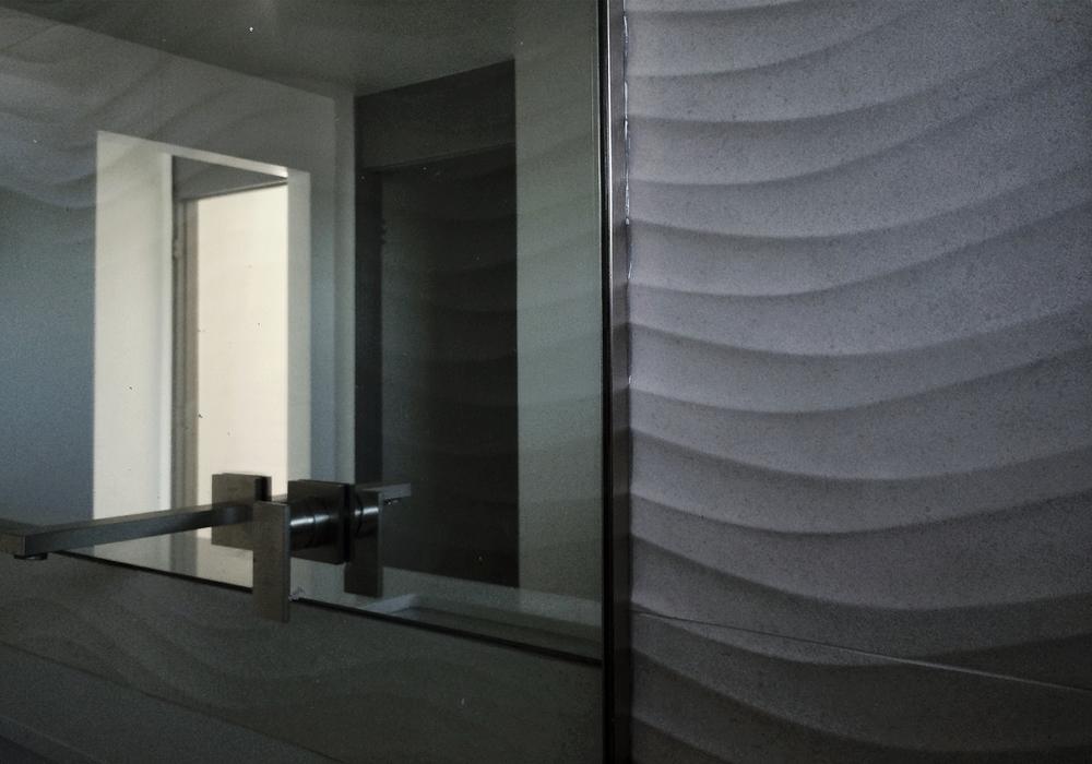 Modern Bath Design Geometry Dimensional Wall Tile Myd