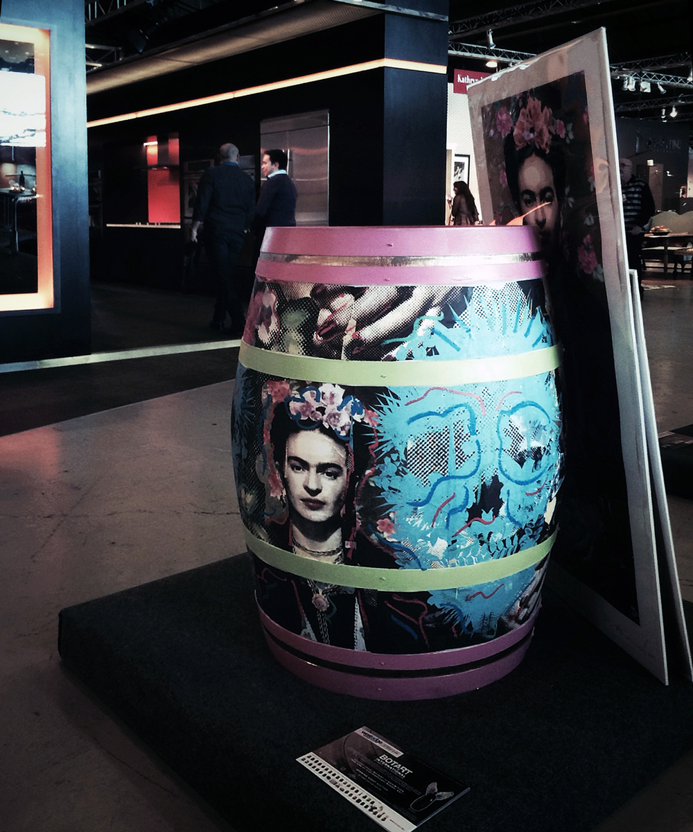 Botart International  //  Barrel Art Exhibition