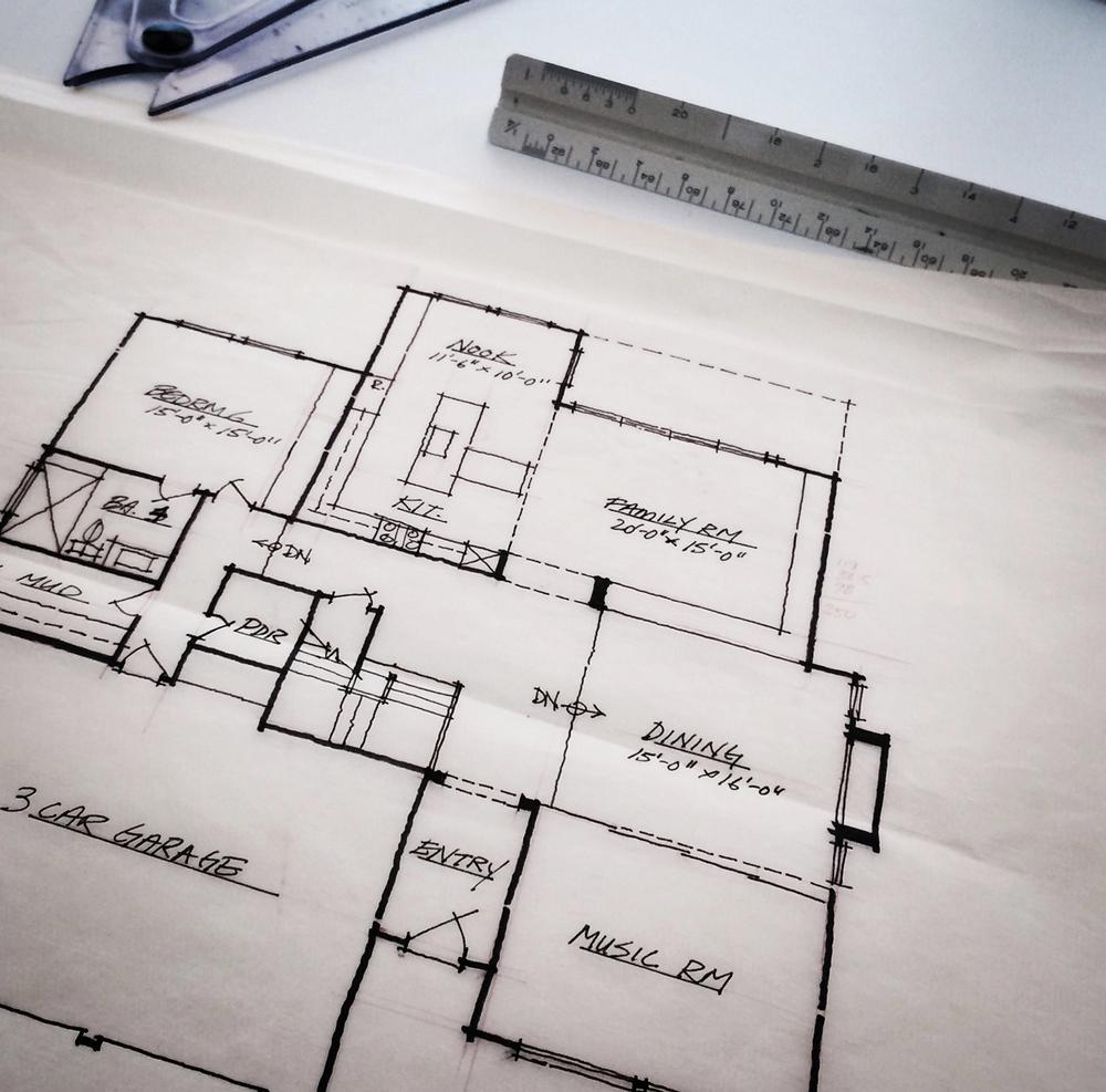 Floor plan design, Irvine, CA / MYD studio