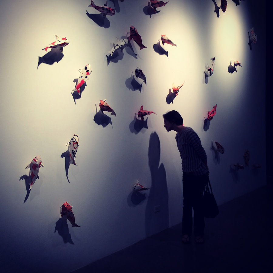 folded: origami at the insection of art + science   // september 2014