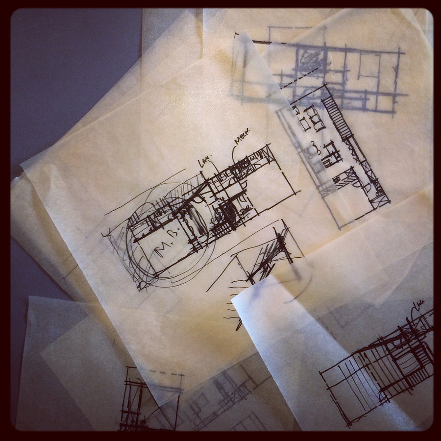 conceptual floor plans: new residence, laguna beach   // october 2014