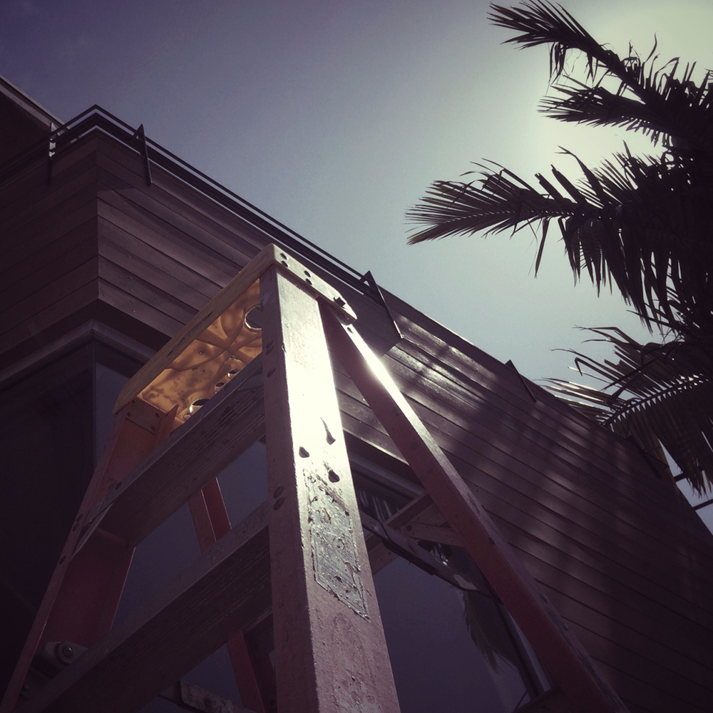 cedar siding in san clemente   // march 2014