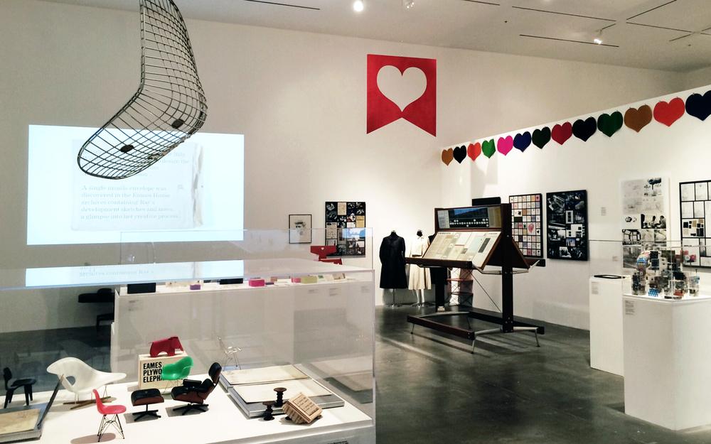 Ray Eames: In the Spotlight // Art Center, Pasadena