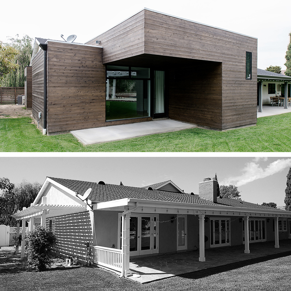 Traditional Exterior Homes: Before & After: Transforming A Traditional Home / MYD Blog