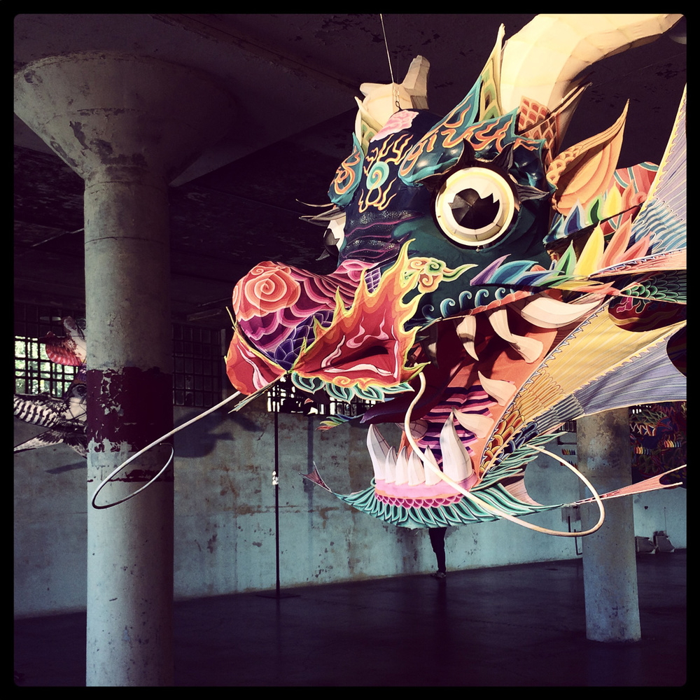 Ai Weiwei [@LARGE] on Alcatraz Island