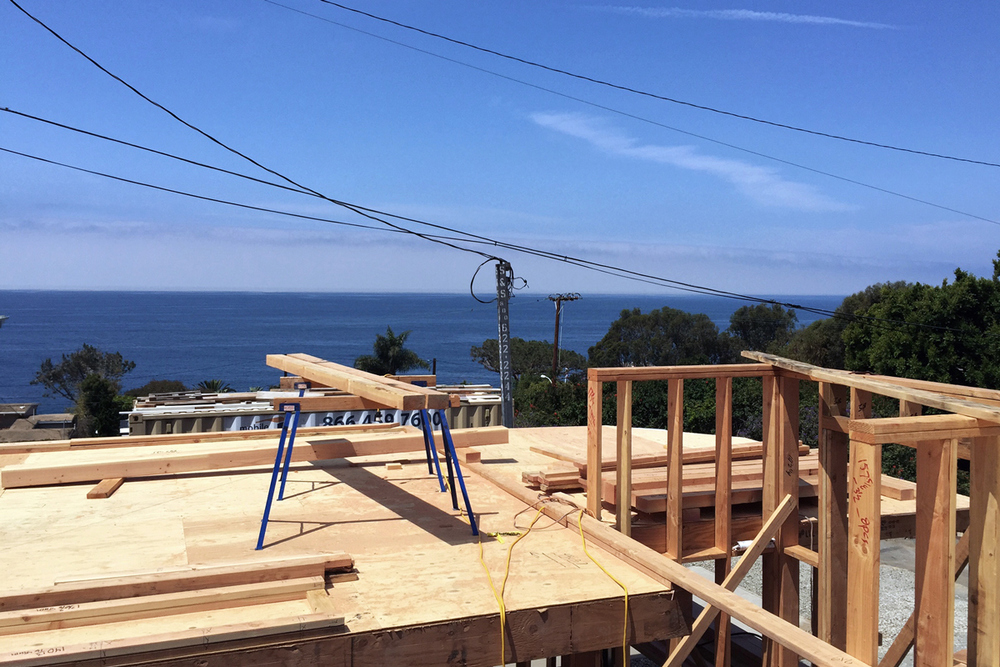 Woods Cove Contemporary Cottage Construction, Laguna Beach