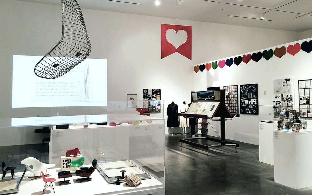 ray eames: in the spotlight / art center, pasadena