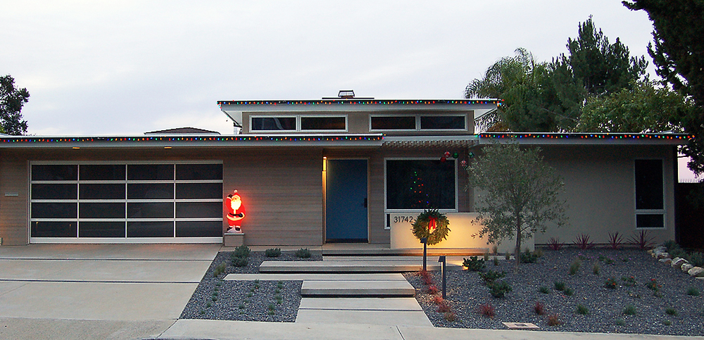 midcentury christmas / niguel west, orange county
