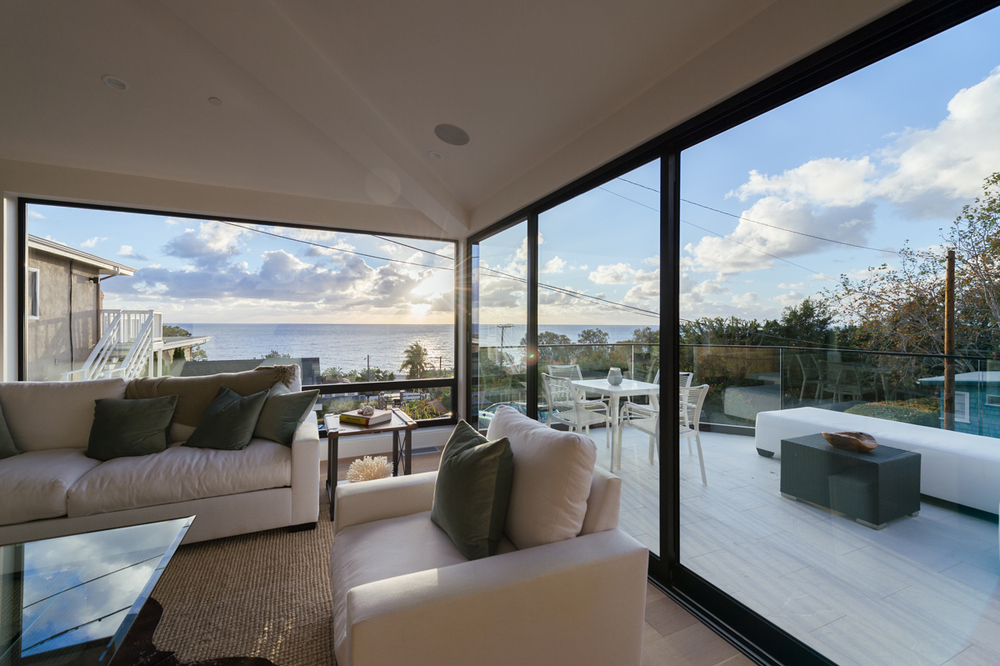 ocean views / great room at deck