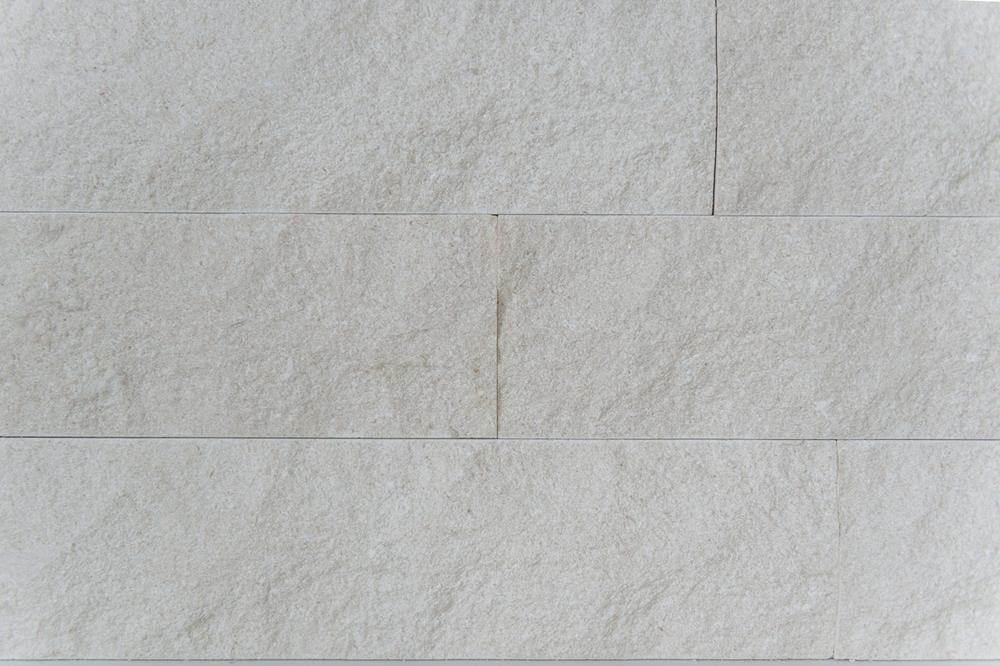stone wall cladding / master bath vanity