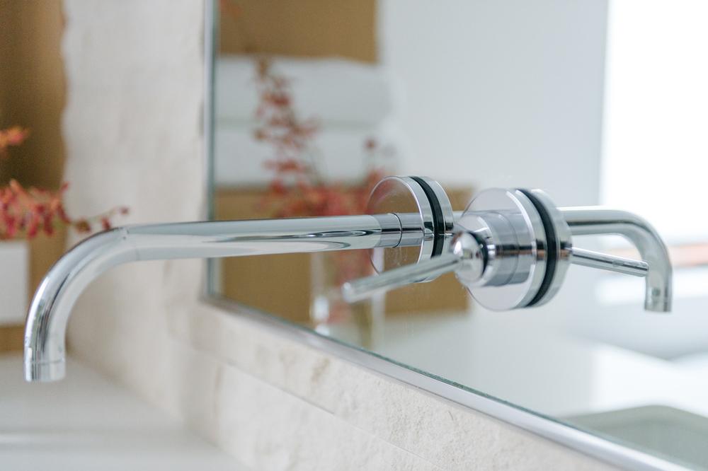 wall-mounted faucets / master bath