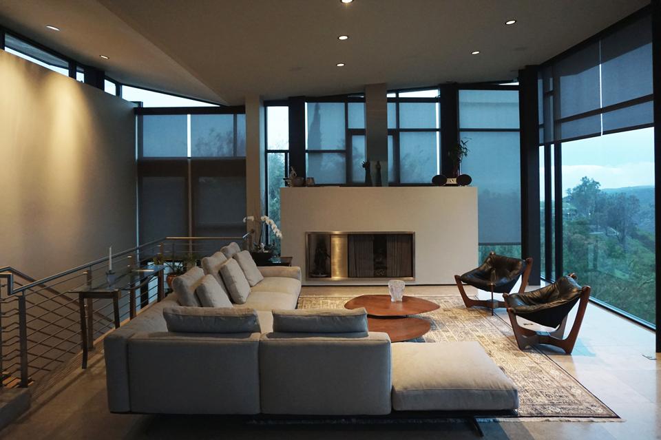 flexform soft dream sectional / laguna beach contemporary interi