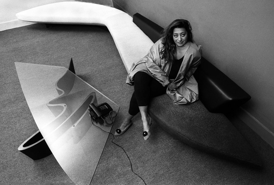 zaha hadid , 1985 (getty)
