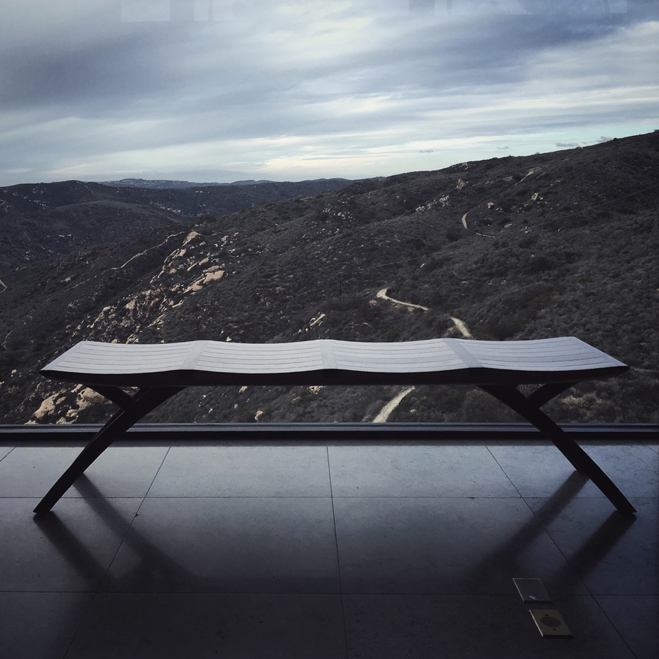 modern interiors   // ylla bench by aristeu pires