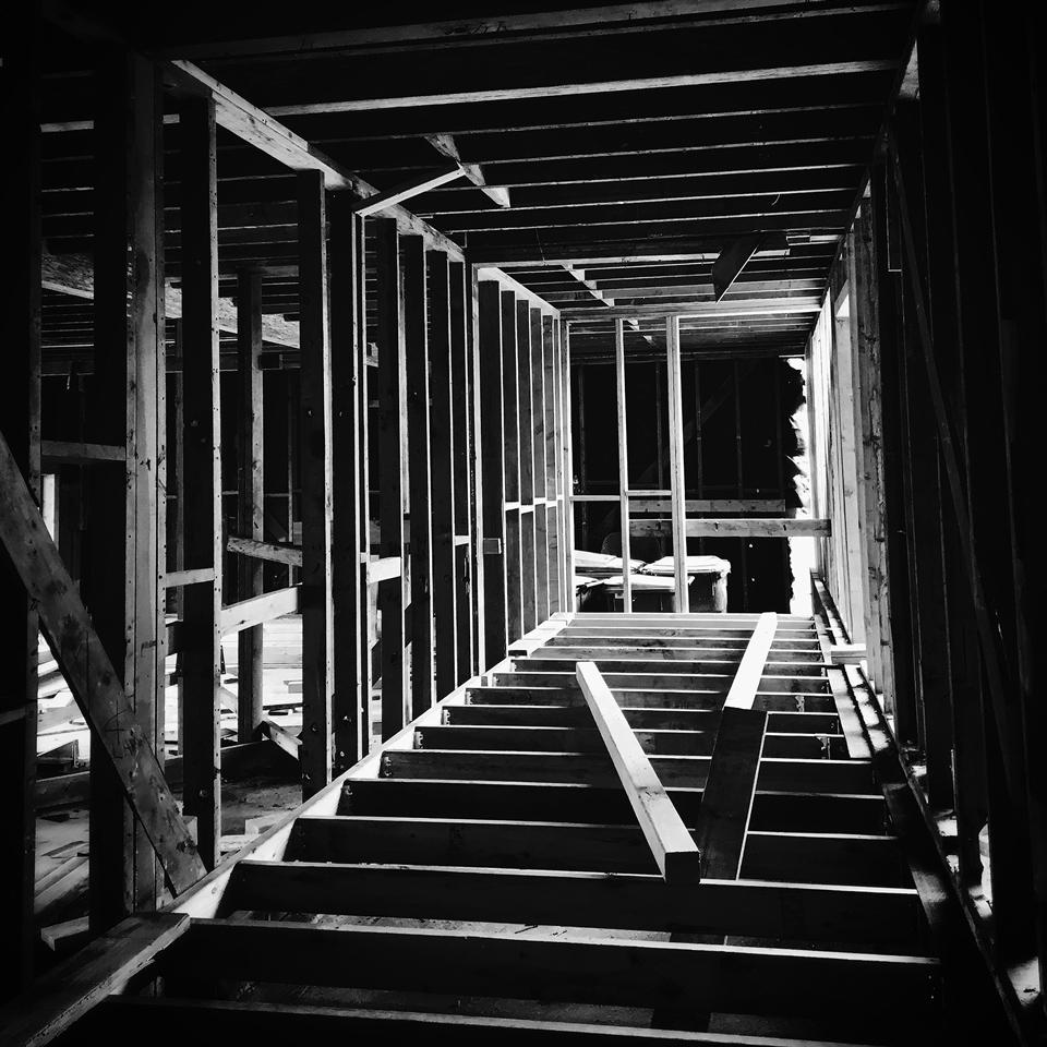 construction progress   // north laguna, ca