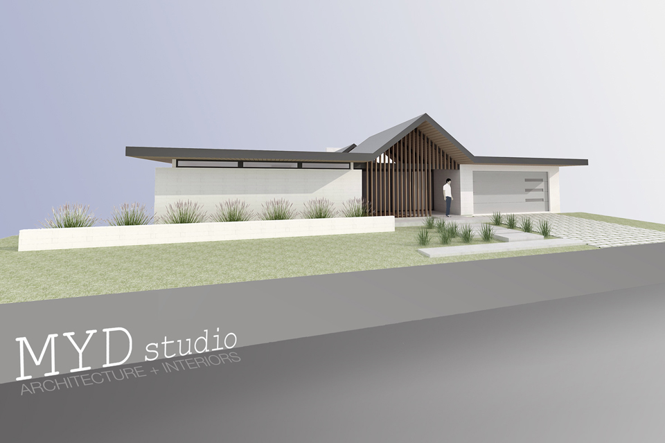 eichler renovation / rendered perspective