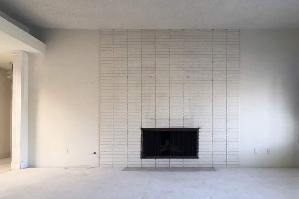 original fireplace / living room