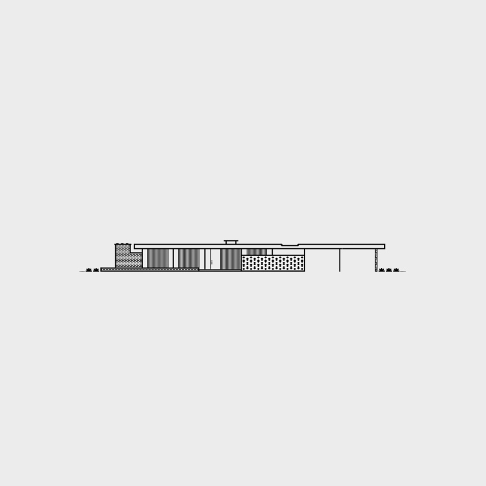 alcoa care free home, 1957 / charles goodman