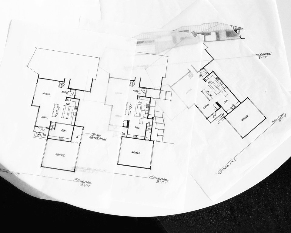 floor plan iterations