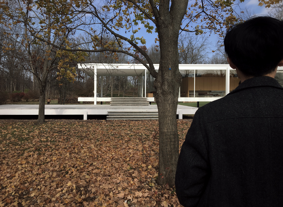 jason at the farnsworth house [2015]