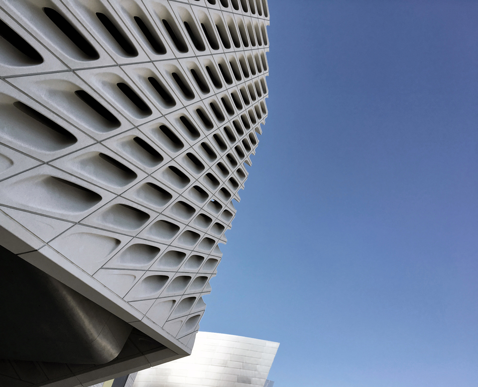 the broad museum by diller, scofidio + renfro, los angeles ca