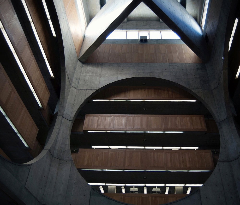 philips exeter library by louis kahn / exeter,  new hampshire